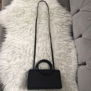 Vintage Carlo Fellini black bag